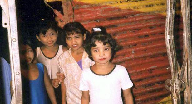 Saved children in Nepal